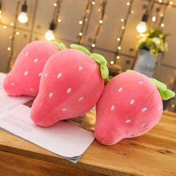 Cute Strawberry Plush Pillow 2