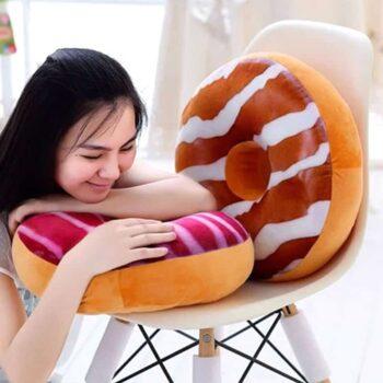 Doughnuts Plush Pillow
