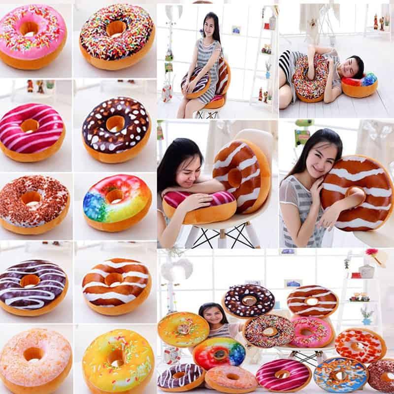 Doughnuts Plush Pillow 2