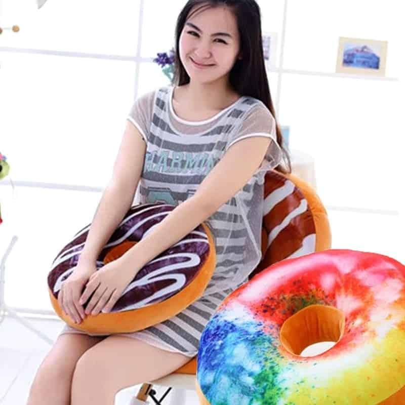 Doughnuts Plush Pillow 5