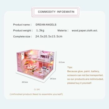 Dream Angels Doll House