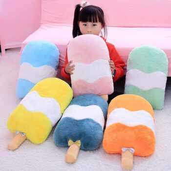 Ice Cream Plush Pillow