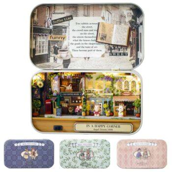 Box Theatre Miniature Dollhouse 0