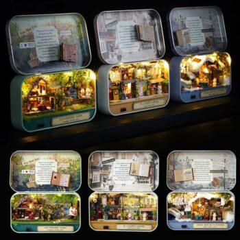 Box Theatre Miniature Dollhouse
