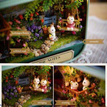 Box Theatre Miniature Dollhouse 2