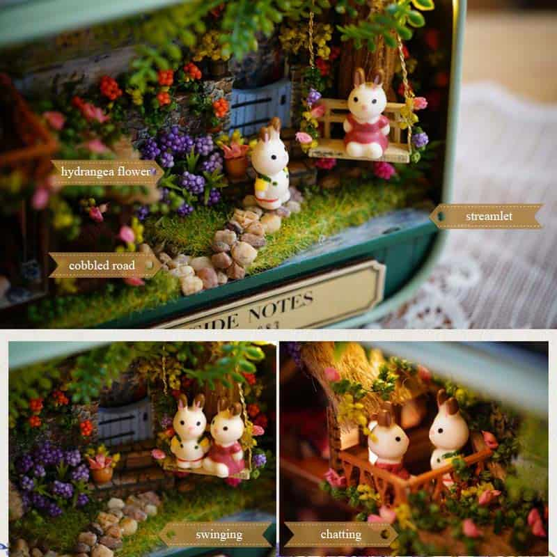 Box Theatre Miniature Dollhouse 3