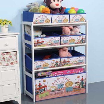 Wood Kids Toy Shelf 2