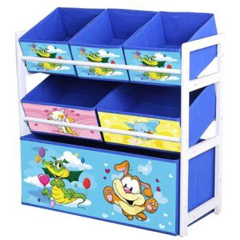 Wood Kids Toy Shelf 3