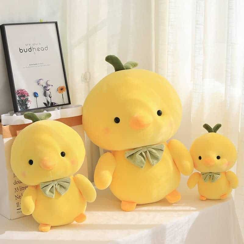 Cute Yellow Chicken Stuffed Animal 1