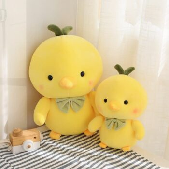 Cute Yellow Chicken Stuffed Animal