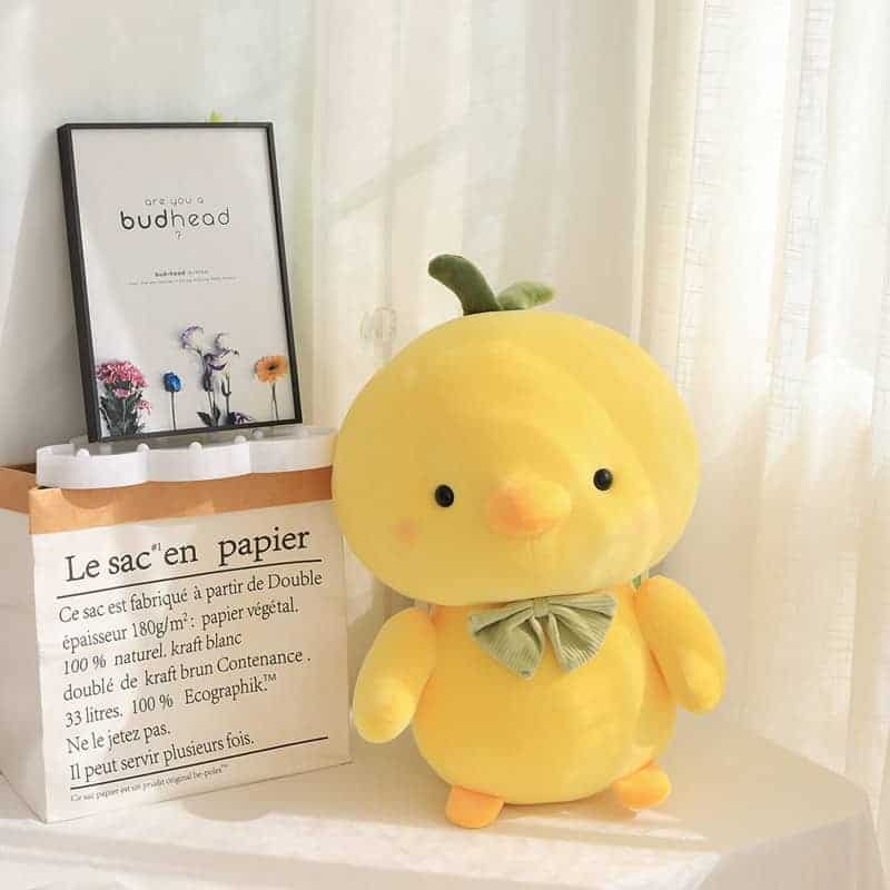 Cute Yellow Chicken Stuffed Animal 3