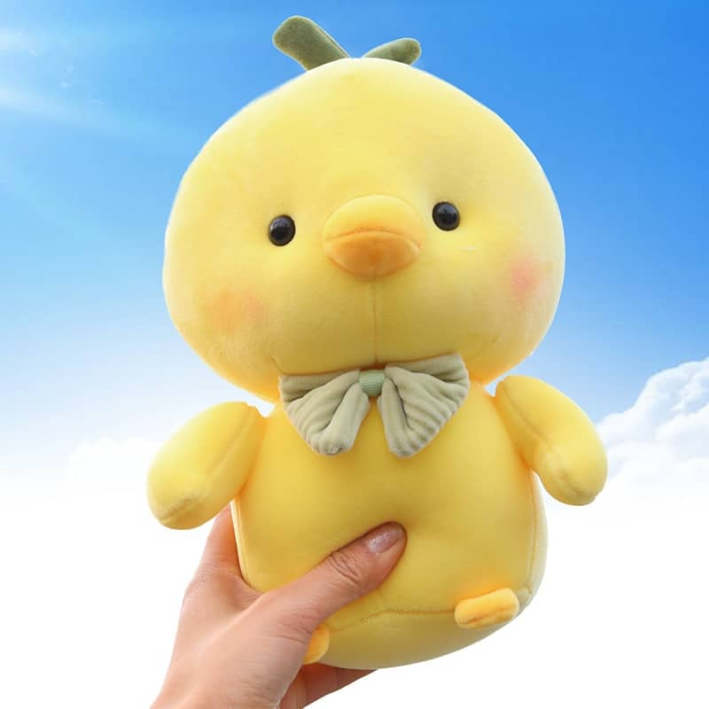 Cute Yellow Chicken Stuffed Animal 4