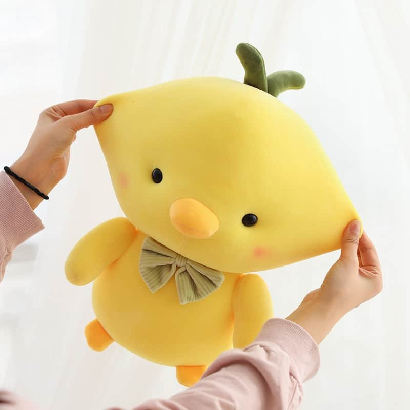 Cute Yellow Chicken Stuffed Animal 5