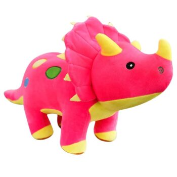 Giant Triceratops Dinosaur Plush 1