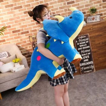 Giant Triceratops Dinosaur Plush 3