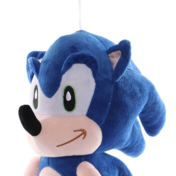 close up of Sonic the hedgehog Plush