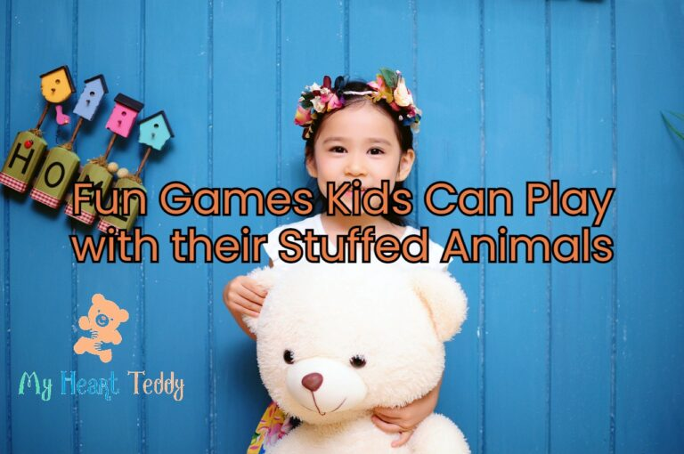 Fun Games Kids Can Play with their Stuffed Animals