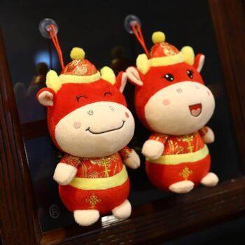 Cute Ox Plush Toy 0