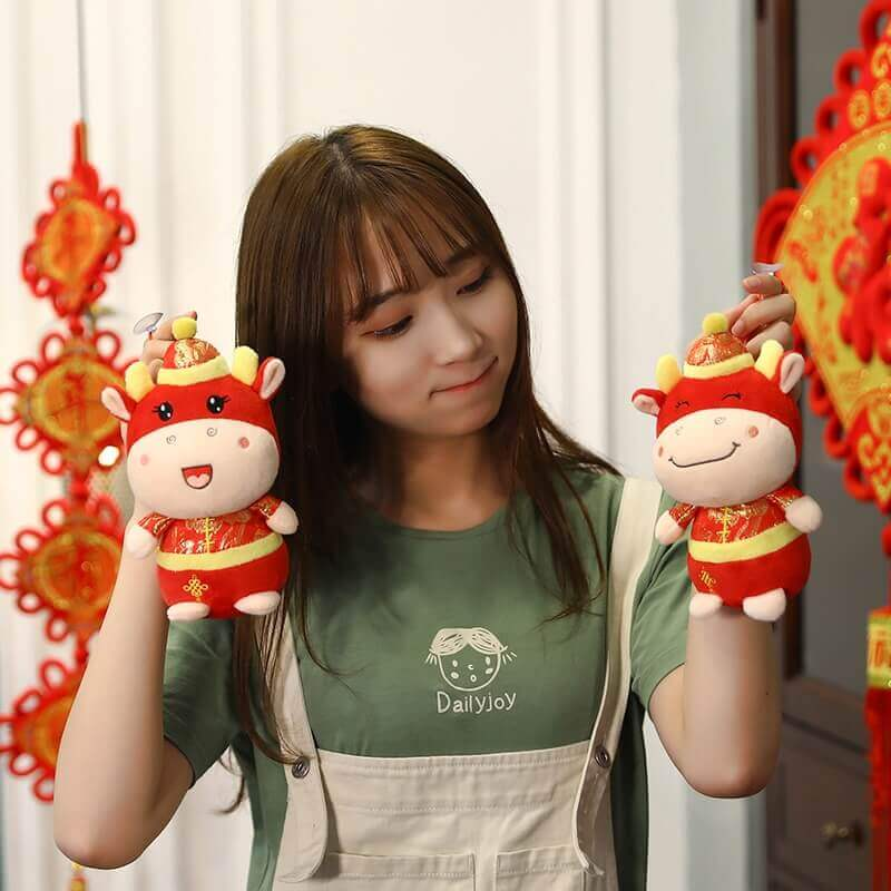 Cute Ox Plush Toy