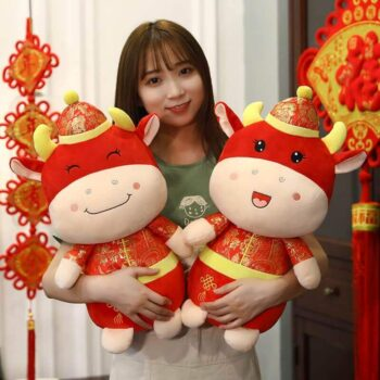 Cute Ox Plush Toy