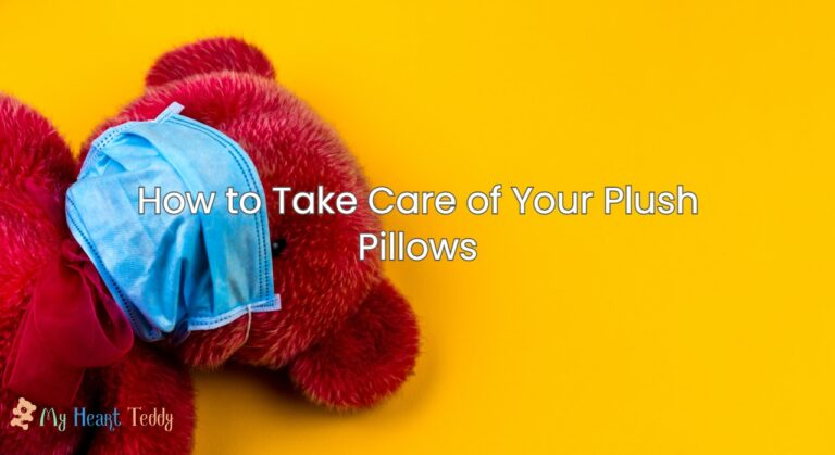 How to Take Care of Your Plush Pillows