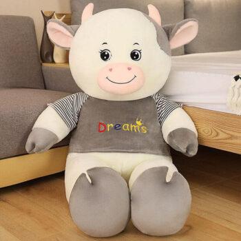 Big Eyed Cow Plush