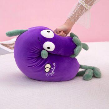 Big Eyed Eggplant Plush