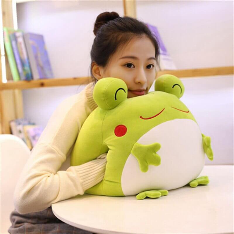 Big Eyed Frog Plush