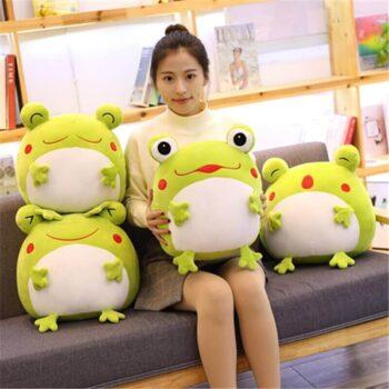 Big Eyed Frog Plush 4