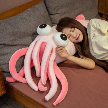Big Eyed Squid Plush 1