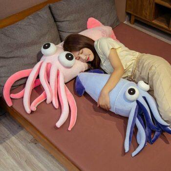 Big Eyed Squid Plush 3