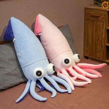 Big Eyed Squid Plush 4