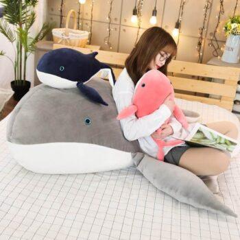 Big Eyed Whale Plush