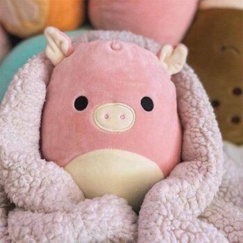 Kawaii Squishmallow Pig