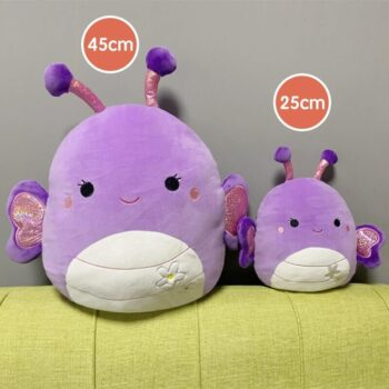 Two Purple Squishmallows Stuffed Toys