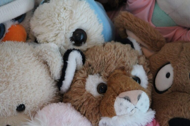 What to do with old stuffed animals?