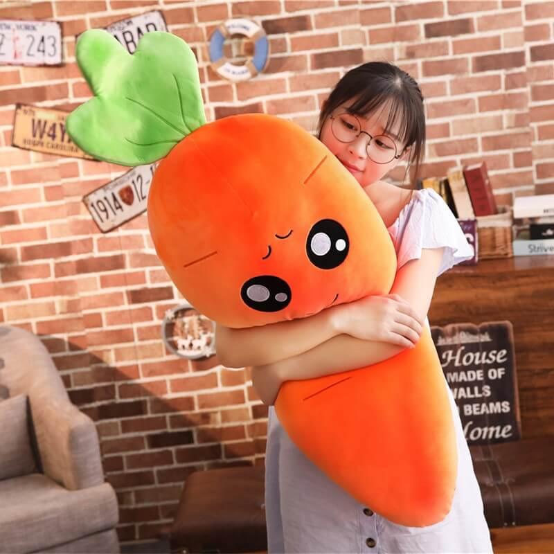 Big Eyed Carrot Plush