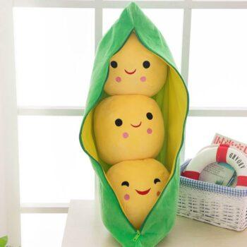 Pea Pod Plush Toy 3