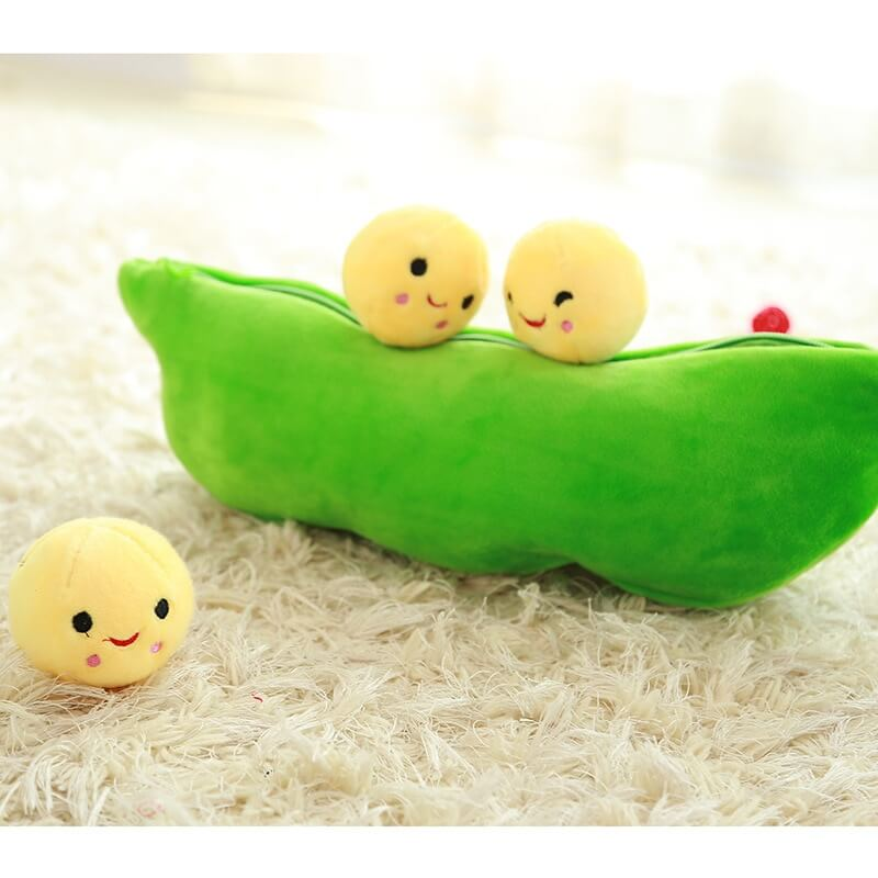 Pea Pod Plush Toy