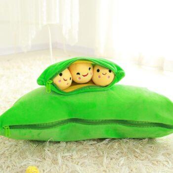 Pea Pod Plush Toy 1
