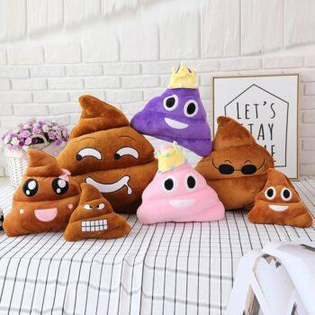 Poop Emoji Plush 4