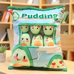 8Pcs Mini Pudding Plushies | 41 Styles - Avocado