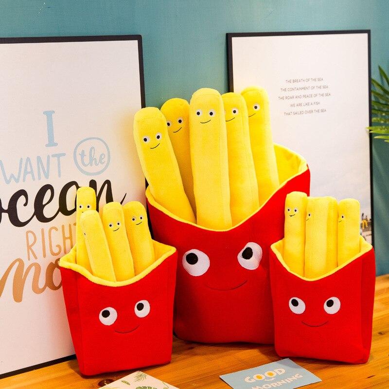 Giant Stuffed French Fries Plush