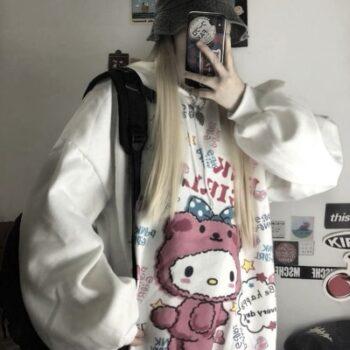 Kawaii Anime Winter Women Hoodie