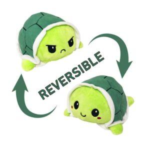 Reversible Turtle Mood Plush