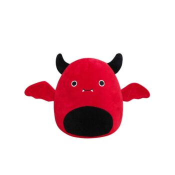 whole view of red Cute Bat Plush