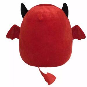 back of red Cute Bat Plush