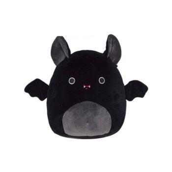 whole view of black Cute Bat Plush