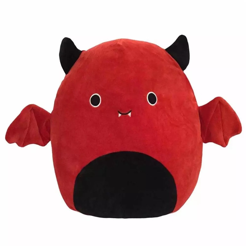 front of red Cute Bat Plush