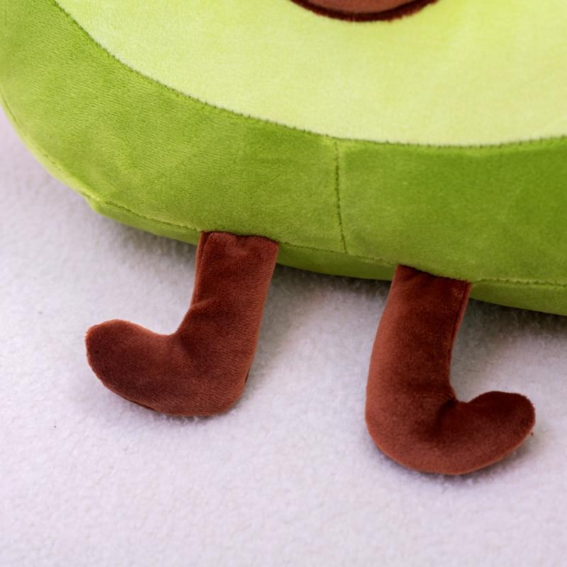 Giant Avocado Plush Feet